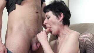 Nagymama szex