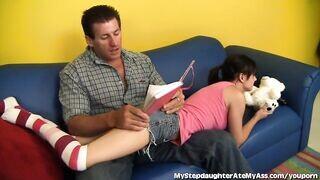 Apa és lánya szex