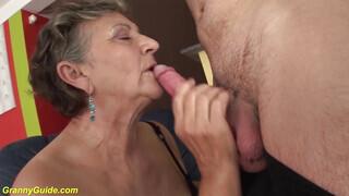 Magyar nagymama szex